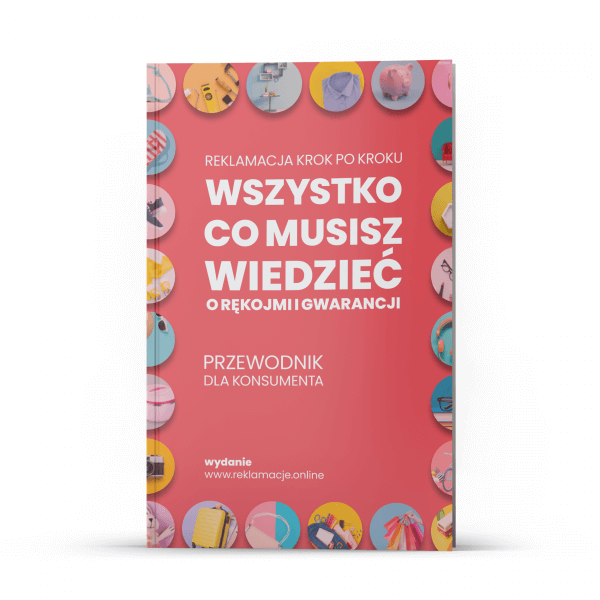 """eBook """"WSZYSTKO CO MUSISZ WIEDZIEĆ O RĘKOJMI I GWARANCJI"""""""